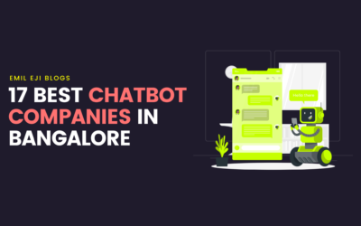 17 Best AI Chatbot Companies In Bangalore
