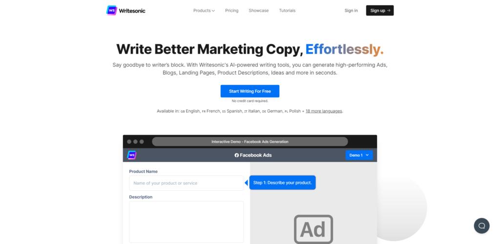 writesonic-ai-copywriting-tool