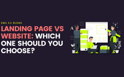 Landing Page Vs Website: Which One Should You Choose?
